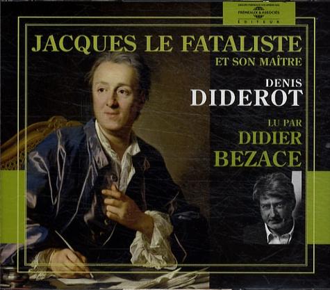Jacques le fataliste et son maître  avec 3 CD audio