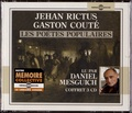 Jehan Rictus et Gaston Couté - Jehan Rictus, Gaston Couté : les poètes populaires. 3 CD audio