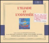 Homère - L'Iliade et l'Odyssée. 10 CD audio