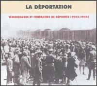 Pierre Guérin et  Collectif - La déportation : témoignages et itinéraires de déportés (1942-1945) - Coffret 4 CD audio.