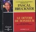 Pascal Bruckner - Le devoir de bonheur - Les paradoxes de l'injonction au bonheur. 2 CD audio