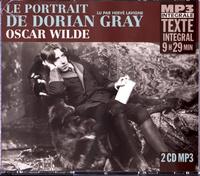 Oscar Wilde - Le portrait de Dorian Gray. 2 CD audio MP3