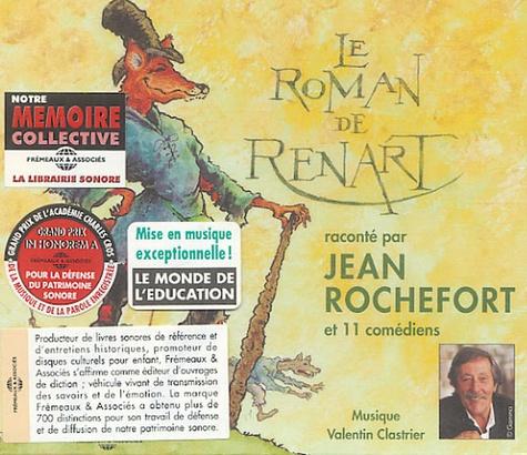 Jean Rochefort - Le Roman de Renart. 1 CD audio