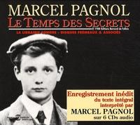 Marcel Pagnol - Le Temps des secrets - 6 CD audio.