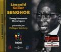 Philippe Sainteny et Jean-Pierre Bourrel - Léopold Sédar Senghor. 1 CD audio