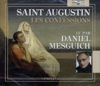 Saint Augustin - Les Confessions. 3 CD audio