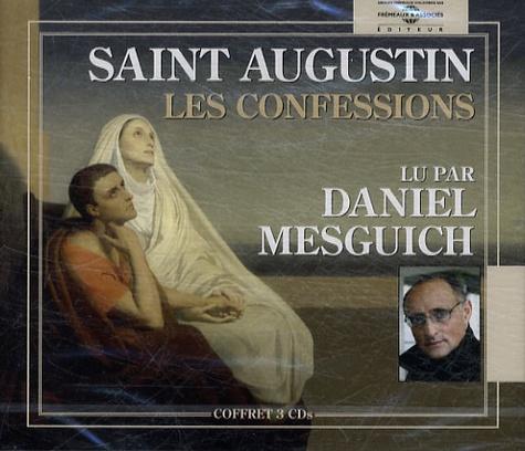 Les Confessions  avec 3 CD audio