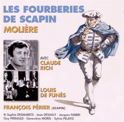 Les Fourberies de Scapin  avec 2 CD audio