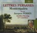 Montesquieu - Lettres persanes - 3 CD audio.