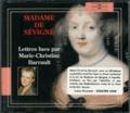 Madame de Sévigné et Marie-Christine Barrault - Madame de Sévigné - Lettres. 2 CD audio