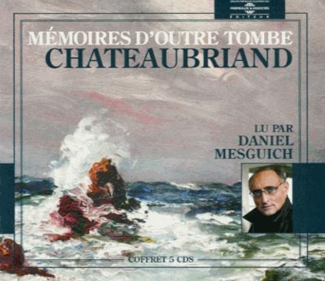 Mémoires d'outre tombe  avec 5 CD audio