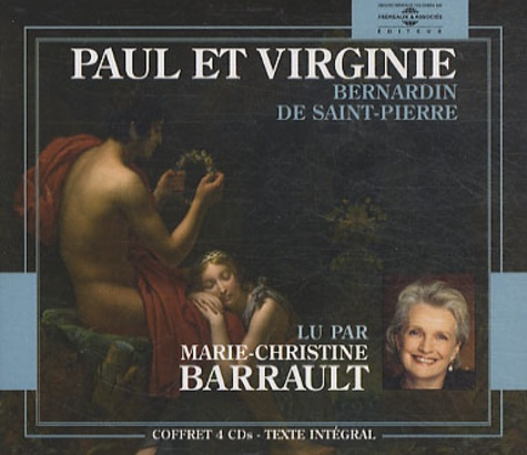 Bernardin de Saint-Pierre - Paul et Virginie. 4 CD audio