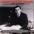 Pierre Mendès France et Jean Lacouture - Pierre Mendès France - Entretiens avec Jean Lacouture (1980-1981) - Coffret 4 CD + Livret.