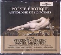 Sterenn Guirriec et Daniel Mesguich - Poésie érotique - Anthologie en 110 poèmes. 3 CD audio