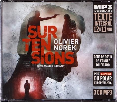 Olivier Norek - Surtensions. 3 CD audio MP3
