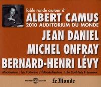 Jean Daniel et Michel Onfray - Table ronde autour d'Albert Camus. 2 CD audio