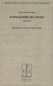 Frères de Saint-Gabriel - Iconographie des signes - (1853-1854).