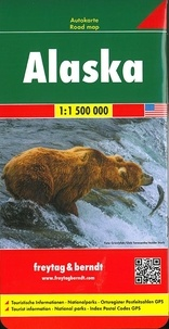 Alaska- 1/1 500 000 -  Freytag & Berndt | Showmesound.org