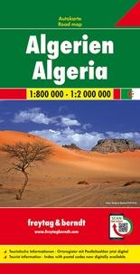 Algérie- 1/800 000 - 1/2 000 000 -  Freytag & Berndt pdf epub