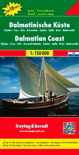 Freytag & Berndt - Côte Dalmatie - 1/150 000.