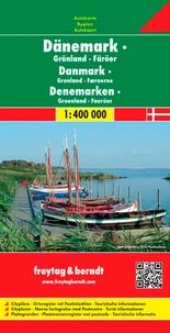 Danemark- Iles Feroe, Groenland 1/400.000 -  Freytag & Berndt pdf epub