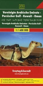 Emirats Arabes Unis, Golfe Persique, Koweït, Oman- 1/1 600 000 -  Freytag & Berndt pdf epub