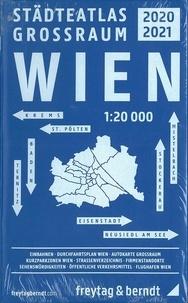 Freytag & Berndt - Greater Vienna - Cityatlas.