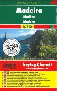 Freytag & Berndt - Madère - 1/75 000.