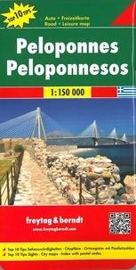 Freytag & Berndt - Péloponnèse - 1/150 000.