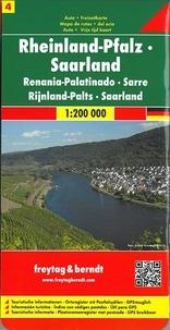 Freytag & Berndt - Rhénanie-Palatinat Sarre - 1/200 000.