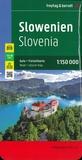 Freytag & Berndt - Slovénie - 1/150 000.