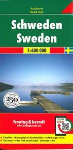 Freytag & Berndt - Suède - 1/600 000.