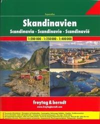 Freytag & Berndt - Superatlas Scandinavie.
