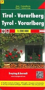 Tyrol Vorarlberg -  Freytag & Berndt pdf epub