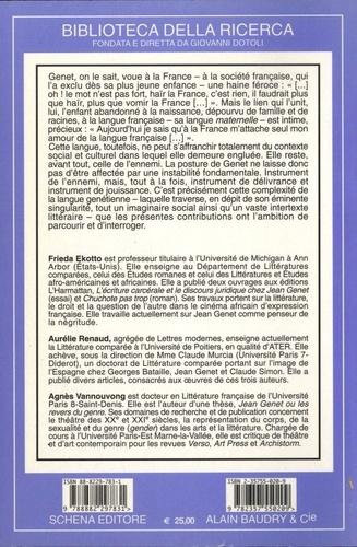 Toutes les images du langage : Jean Genet