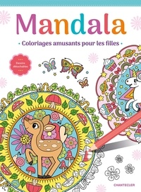 Frieda Van Raevels - Mandala - Coloriages amusants pour les filles.