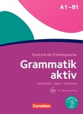 Friederike Jin et Ute Voss - Grammatik aktiv A1-B1. 1 CD audio MP3