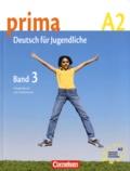Friederike Jin et Lutz Rohrmann - Prima, Deutsch für Jugendliche - Band 3, A2.