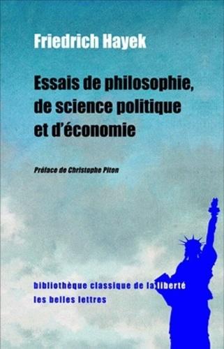 Essais de philosophie, de science politique et d'économie