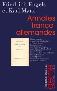 Friedrich Engels et Karl Marx - Annales franco-allemandes.