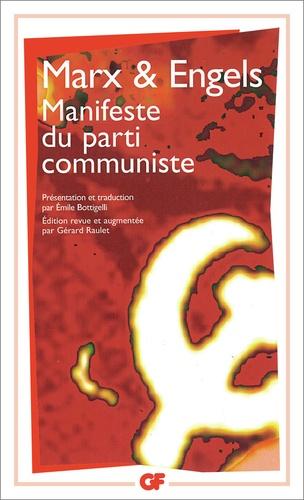 Friedrich Engels et Karl Marx - Manifeste du parti communiste.