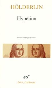 Ebooks téléchargés dans Kostenlos Hypérion ou l'Ermite de Grèce. (précédé du) Fragment