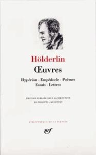 Friedrich Hölderlin - Oeuvres.