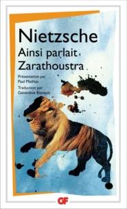 Téléchargements de livres électroniques gratuits pour les netbooks Ainsi parlait Zarathoustra