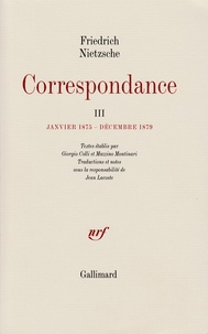 Satt2018.fr Correspondance - Tome 3, Janvier 1875-décembre 1879 Image