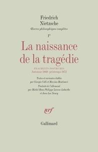 Deedr.fr La naissance de la tragédie - Fragments posthumes, Automne 1869 - Printemps 1872 Image