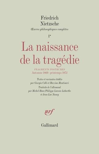 Nietzsche La Naissance De La Tragédie