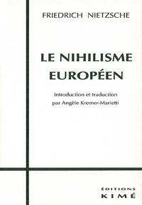 Histoiresdenlire.be Le nihilisme européen Image