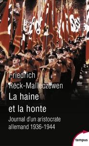 Deedr.fr La haine et la honte - Journal d'un aristocrate allemand 1936-1944 Image