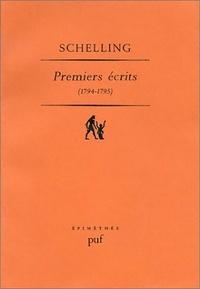 Friedrich von Schelling - Premiers écrits 1794-1795.